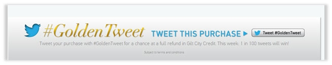 Hashtag-GoldenTweet