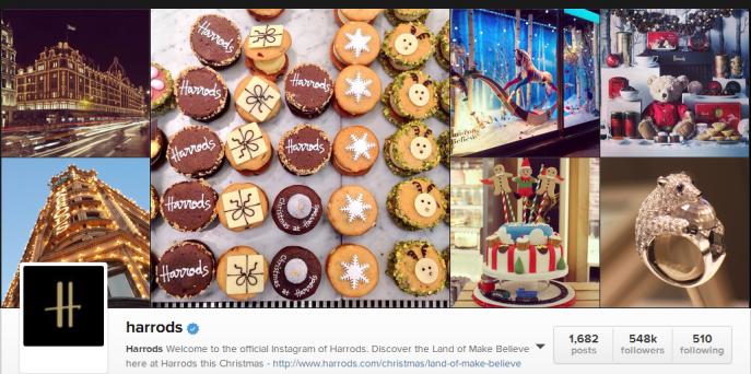 Harrod's Instagram