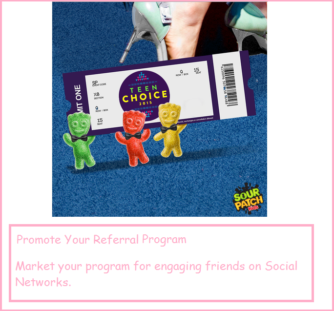Promotions referal