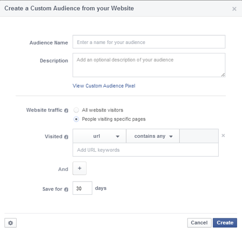 customaudience